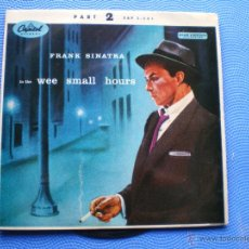 Disques de vinyle: FRANK SINATRA IN THE WEE SMALL HOURS EP UK PDELUXE. Lote 49935707