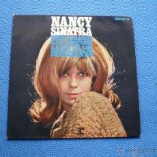 Discos de vinilo: NANCY SINATRA BEBIDA MAGICA+3 EP SPAIN 1967 PDELUXE. Lote 49936834