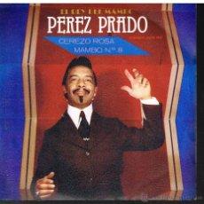Disques de vinyle: PÉREZ PRADO - CEREZO ROJO / MAMBO Nº 8 - SINGLE 1981 - PROMO. Lote 49942334