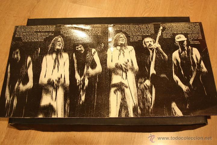 Discos de vinilo: SAXON, BACK ON THE STREET, 2LPs CONNOSSEU COLLECTION RECORDS, 1989, MADE IN UK, GATEFOLD - Foto 4 - 49945026