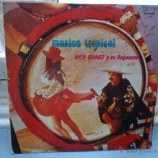Discos de vinilo: DISCO VINILO - LP MUSICA TROPICAL - NICO GOMEZ Y SU ORQUESTA - LP. Lote 49945444