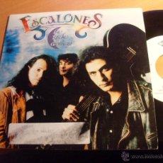 Discos de vinilo: ESCALONES (LA NOCHE CONTIGO +1 ) SINGLE ESPAÑA 1992 PROMO (EP13). Lote 49945864