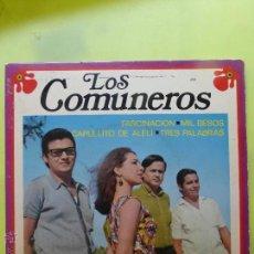 Discos de vinilo: LOS COMUNEROS. FASCINACION + 3. EP. EKIPO 1970. Lote 49945930