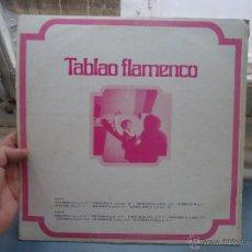 Discos de vinilo: DISCO VINILO - LP LP - TABLAO FLAMENCO - - ORIGINAL ESPAÑOL, TREBOL. Lote 49945953