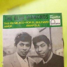 Discos de vinilo: THE BLUE DIAMONDS EN ESPAÑOL - TAXI EN MEJICO EP 1966. Lote 49945968