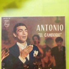 Discos de vinilo: ANTONIO EL CAMBORIO // JUERGA EN EL COLMAO// TANGOS DE BADAJOZ-MIRABRAS-NANA-JALEOS EXTREMEÑOS. Lote 49946029
