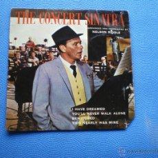 Discos de vinilo: FRANK SINATRA THE CONCERT SINATRA EP UK 1963 PDELUXE. Lote 49948110