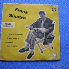 Discos de vinilo: FRANK SINATRA EL CONTINENTAL+ ACEPTA MI PALABRA + 2 EP SPAIN 1958 PDELUXE. Lote 49948192
