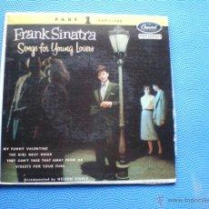 Discos de vinilo: FRANK SINATRA MY FUNNY VALENTINE+3 EP USA PDELUXE. Lote 49948240