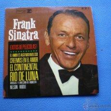 Discos de vinilo: FRANK SINATRA EXITOS DE PELICULAS EL AMOR ES ALGO MARAVILLOSO +RIO DE LUNA +2 EP SPAIN 1964 PDELUXE. Lote 49948588