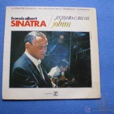 Discos de vinilo: FRANK SINATRA & ANTONIO CARLOS JOBIM LA CHICA DE IPANEMA+3 EP SPAIN 1967 PDELUXE. Lote 49948640