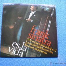 Discos de vinilo: FRANK SINATRA ES LA VIDA+ LA SOMBRA DE TU SONRISA +2 EP SPAIN 1966 PDELUXE. Lote 49948730