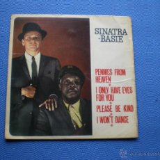 Discos de vinilo: FRANK SINATRA & COUNT BASIE I ONLY HAVE EYES FOR YOU+3 EP UK 1962 PDELUXE. Lote 49949139