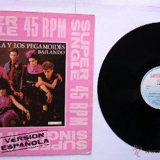Discos de vinilo: ALASKA Y LOS PEGAMOIDES - BAILANDO / BAILANDO (VERSION INGLESA) (MAXI 1982). Lote 49950717