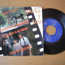 Discos de vinilo: QUETA Y TEO RARE SINGLE DE LA PELICULA ELISABET REIR Y CANTAR CINTA LAVA ROS. Lote 49951657