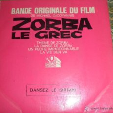 Discos de vinilo: ZORBA LE GREC B.S.O. - ORIGINAL FRANCES - 20TH CENTURY-FOX RECORDS 1965 - MONOAURAL -. Lote 49951691