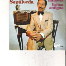 Discos de vinilo: 1 DISCO 33 RPM - JORGE SEPULVEDA ( ME GUSTA MI NOVIA - LISBOA ANTIGUA ). Lote 49952660