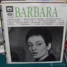 Discos de vinilo: BARBARA. EMI 1958. Lote 49958876