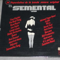 Discos de vinilo: EL SEMENTAL -BANDA SONORA - MADE IN SPAIN - CBS - 1979 - PORTADA ABIERTA - IBL -. Lote 49959329