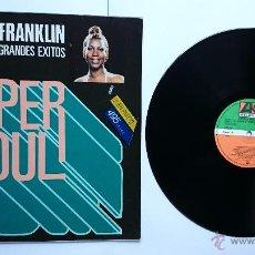 Discos de vinilo: ARETHA FRANKLIN - SUS MAS GRANDES EXITOS (COLECCION 'SUPER SOUL' 1979) (REEDICION 1982). Lote 49960660