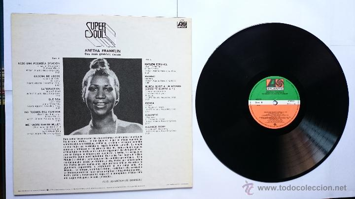 Discos de vinilo: ARETHA FRANKLIN - SUS MAS GRANDES EXITOS (COLECCION 'SUPER SOUL' 1979) (REEDICION 1982) - Foto 2 - 49960660