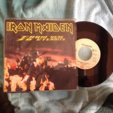 Discos de vinilo: IRON MAIDEN SG FROM HERE TO ETERNITY ALEMAN A ESTRENAR. Lote 177710908