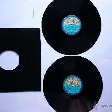 Discos de vinilo: BARRY WHITE, LOVE UNLIMITED, THE LOVE UNLIMITED ORCH. - THE BEST OF OUR LOVE (DOBLE LP RECOP. 1980). Lote 49962800