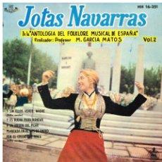 Discos de vinilo: EL PUEBLO ESPAÑOL - JOTAS NAVARRAS. VOL. 2 - EP 1961. Lote 49962982