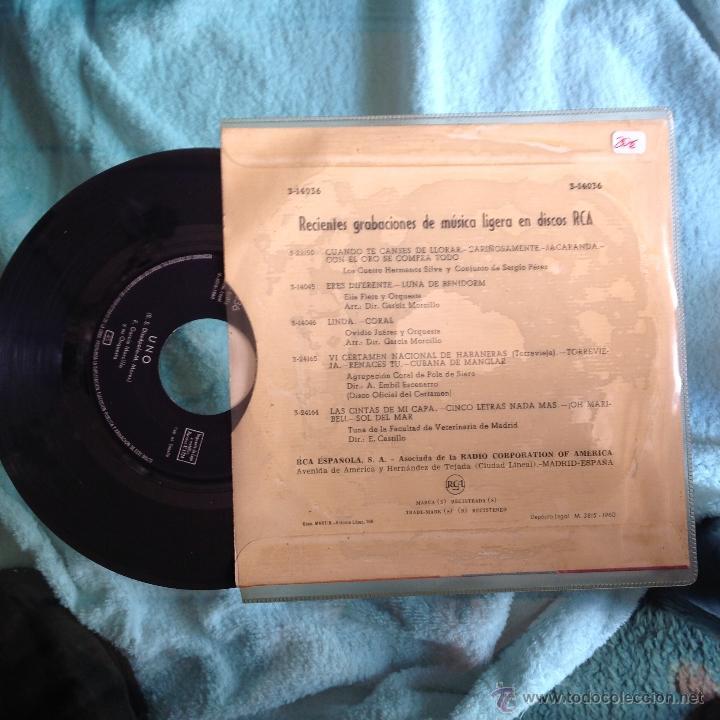 Discos de vinilo: F. GARCIA MORCILLO SG. 1960 Uno+ Volver - Foto 2 - 49964660