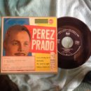 Discos de vinilo: PEREZ PRADO EP YOU´RE DRIVING ME CRAZY + 3 TEMAS. Lote 49964713