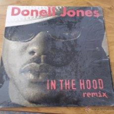 Discos de vinilo: DONELL JONES. IN THE HOOD. REMIX EDICION CANADA. Lote 49965537