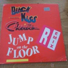 Discos de vinilo: BLACK KISS FEATURING CHERITA. JUMP ON THE FLOOR.. Lote 49966066