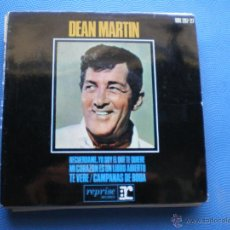 Discos de vinilo: DEAN MARTIN TE VERE+CAMPANAS DE BODA+2 EP SPAIN 1965 PDELUXE. Lote 49967315