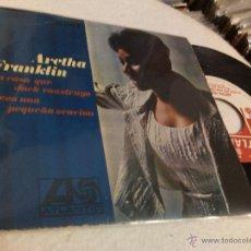 Discos de vinilo: ARETHA FRANKLIN - LA CASA QUE JACK CONSTRUYO / REZO UNA PEQUEÑA ORACION (, SINGLE) . Lote 49968027
