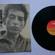 Discos de vinilo: BOB DYLAN - THE TIMES THEY ARE A-CHANGIN' (1964) (REEDICIÓN 1982). Lote 49970811