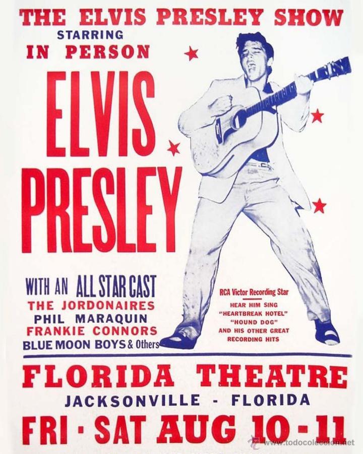 elvis presley !! concert florida theatre agosto - Comprar Discos LP ...
