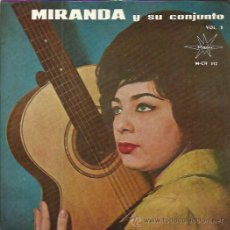 Discos de vinilo: MIRANDA EP MARFER 1964 AQUELLOS OJOS VERDES/ CHA CHA SULA/ EL CUMBANCHERO/ PA RAN PAN PAN . Lote 49979601