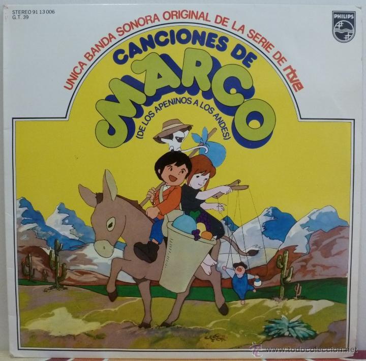 canciones de marco · de los apeninos a los ande - Comprar Discos LPs ...