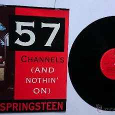 Discos de vinilo: BRUCE SPRINGSTEEN - 57 CHANNELS (AND NOTHIN' ON) ('THE REMIXES' 4 VERSIONES) (MAXI 1992). Lote 49988248