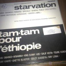Discos de vinil: STARVATION TAM-TAM POUR L´ETHIPIE MAXI SINGLE.......................E. Lote 49988377