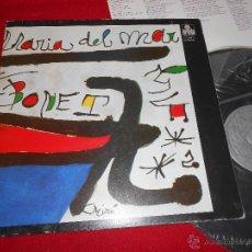 Discos de vinilo: MARIA DEL MAR BONET LP 1974 ARIOLA CATALA MIRO COVER ART GATEFOLD. Lote 49989193