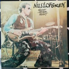 Discos de vinilo: NILS LOFGREN, NIGHT AFTER NIGHT DOBLE LP. Lote 49999910