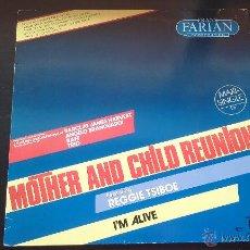 Discos de vinilo: FRANK FARIAN CORPORATION FEATURING REGGIE TSIBOE - MOTHER AND CHILD REUNION - 1985. Lote 50000745