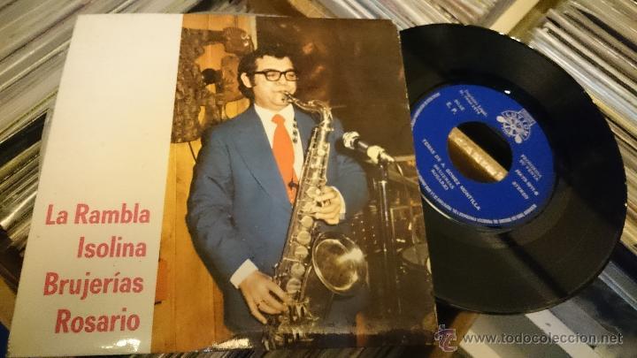 GOMEZ MONTILLA LA RAMBLA ISOLINA BRUJERIAS EP DISCO VINILO 1974 LUYTOM LATIN JAZZ MUY RARO! (Música - Discos de Vinilo - EPs - Jazz, Jazz-Rock, Blues y R&B)