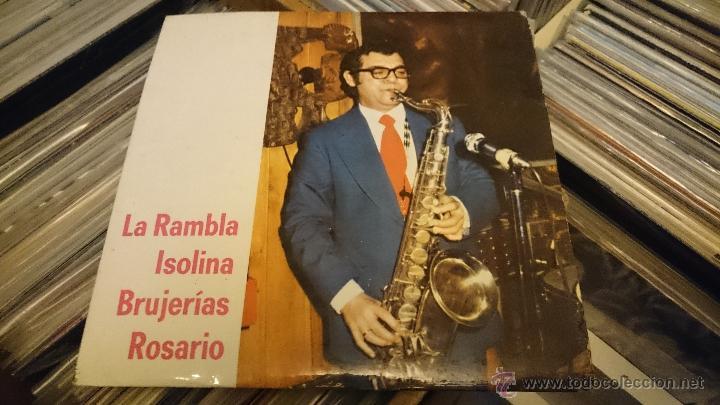 Discos de vinilo: GOMEZ MONTILLA La Rambla Isolina Brujerias Ep Disco vinilo 1974 LUYTOM Latin jazz Muy raro! - Foto 3 - 50002769