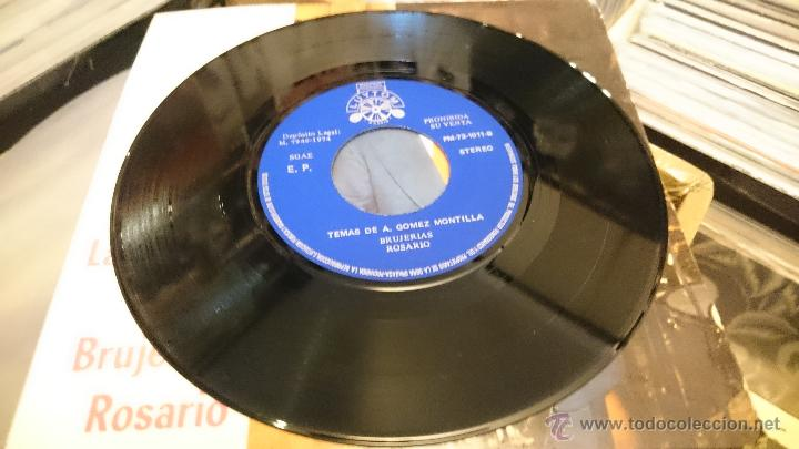 Discos de vinilo: GOMEZ MONTILLA La Rambla Isolina Brujerias Ep Disco vinilo 1974 LUYTOM Latin jazz Muy raro! - Foto 4 - 50002769