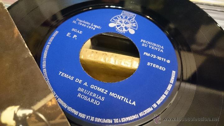 Discos de vinilo: GOMEZ MONTILLA La Rambla Isolina Brujerias Ep Disco vinilo 1974 LUYTOM Latin jazz Muy raro! - Foto 5 - 50002769