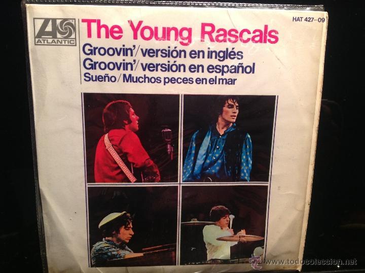 THE YOUNG RASCALS EP GROOVIN´+ 3 TEMAS (Música - Discos de Vinilo - Maxi Singles - Pop - Rock Extranjero de los 50 y 60)