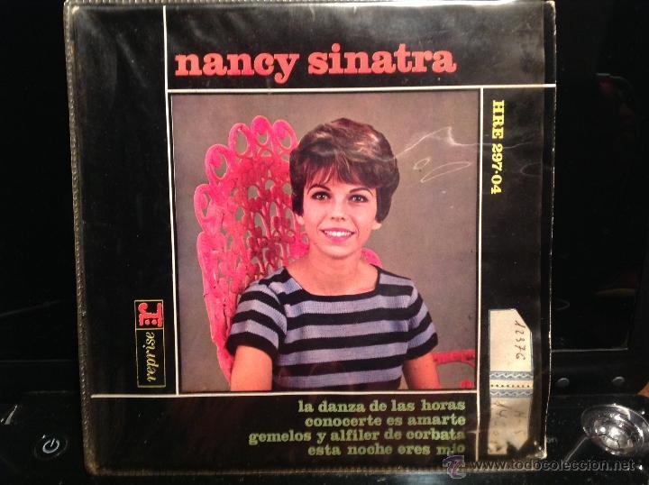 NANCY SINATRA EP LIKE I DO + 3 TEMAS (Música - Discos de Vinilo - Maxi Singles - Pop - Rock Extranjero de los 50 y 60)