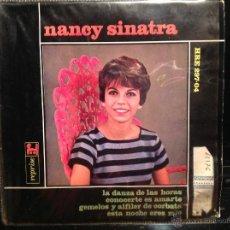 Discos de vinilo: NANCY SINATRA EP LIKE I DO + 3 TEMAS. Lote 50003853